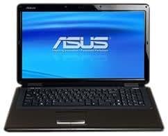 Asus K70IO-TY002C Ordinateur portable 17,3'' Intel dual-core T4200 Webcam 1,3 Mpix Wifi RAM 4096 Mo HDD 250 Go