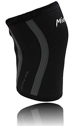 Mietek Active Kniebandage (M - 1x) schont und hilft der Regeneration schmerzender und knirrschender Knie (XS-XXL)