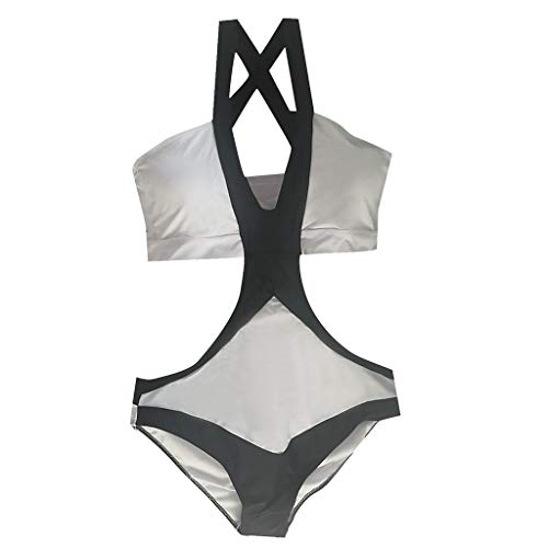 (KItipeng Große Damen Tankini Sexy Badeanzug Badeanzug Beachwear Thick Badeanzug Swimsuit)
