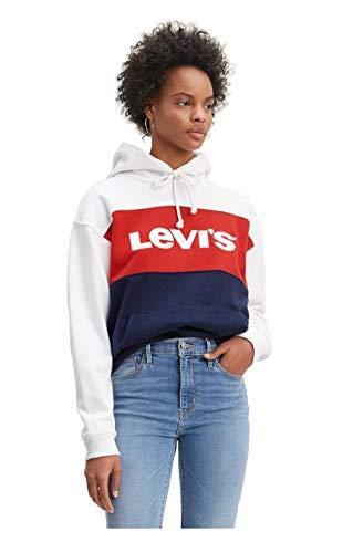 Levi's ® CB Sportswear W Sudadera con Capucha White