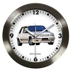 Pendule Horloge murale Super 5GT Turbo RENAULT