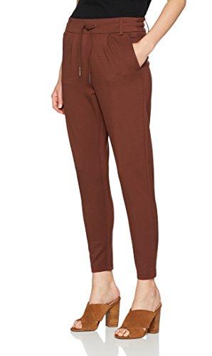ONLY Damen Hose 15115847, Braun (Cherry Mahogany), WNA/L30(Herstellergröße:S)