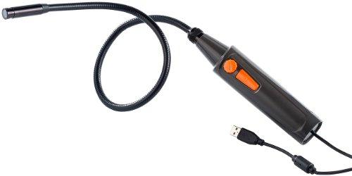 Somikon Snake Scope: USB-Endoskop-Kamera UEC-2620, VGA, Schwanenhals, 4 LEDs (USB Endoskop Kamera Software)