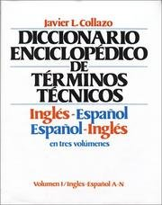 Spanish-English Encyclopaedic Dictionary of Technical Terms