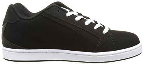 DC Shoes Net, Herren Sneakers Noir (Black/Black/White)