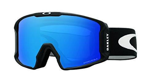 Oakley lineminer 707004 0, occhiali sportivi uomo, nero (matte black/prizmsapphireiridium), 99