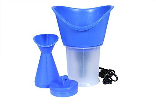 Facial Sauna, Nose Steamer and Vaporizer, 3 in 1 Steam Inhaler  available at amazon for Rs.196