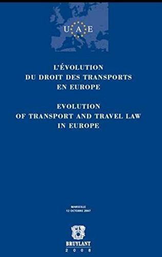L'Evolution du droit des transports en Europe