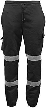 Atomic Hi Vis Joggers with Reinforced Waterproof Knee (Three Colours)