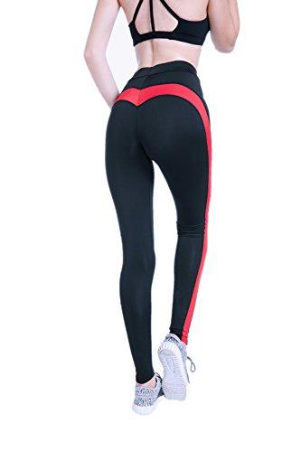 LCWORD Frauen Yoga Hosen Elastische Leggings Schnell Trocknend Atmungsaktiv,M (535 Legging Frauen)