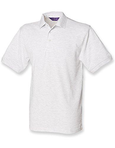 Men`s 65/35 Classic Piqué Polo Shirt Ash (Heather)