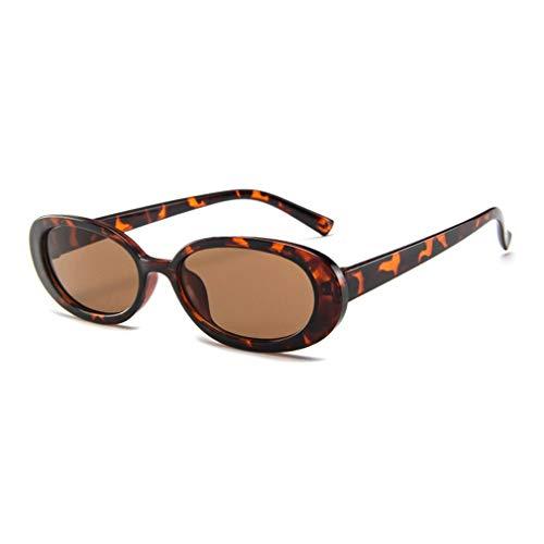 JMT-0825 Art Und Weise Frauen Kleine Runde Polarisierte Sonnenbrille Verspiegelten Gläser Gläser Leopard Druck