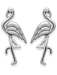 Pendientes de plata 925/000 Circona Flamenco – Flamingo