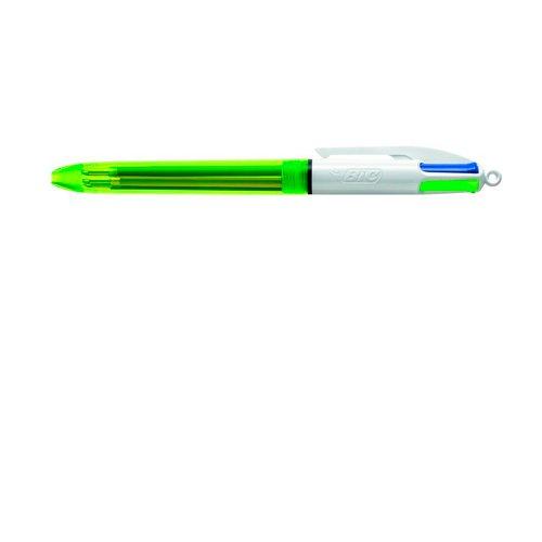 Bolígrafo Bic 4 colores fluo 933948