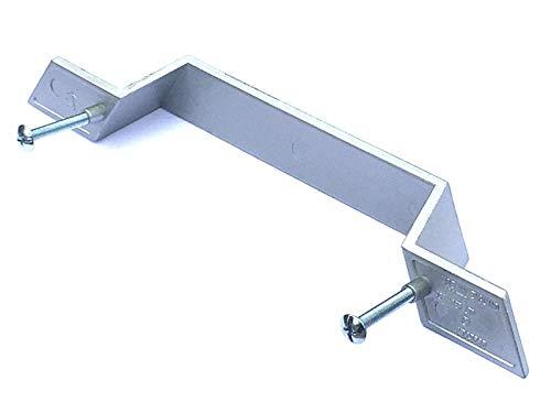 Liberty Möbel Kommode (Liberty Griffe für Küchenschrank, Schublade, 128 mm, Aluminium, 2 Stück)
