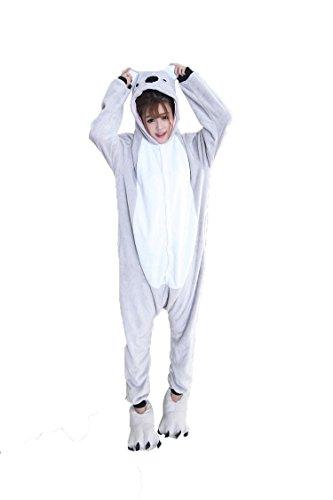 Cliont Tier Koala Pyjamas Kigurumi Nachtwäsche Nachtclothes Kostüm Anime Cosplay Weihnachten (Kostüme Baby Koala)