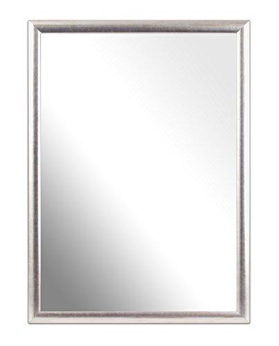 Inov8 A4-inch - Specchio realizzato nel Regno Unito, modello tradizionale, Value argento, 23 cm x 32 cm x 1.4 cm