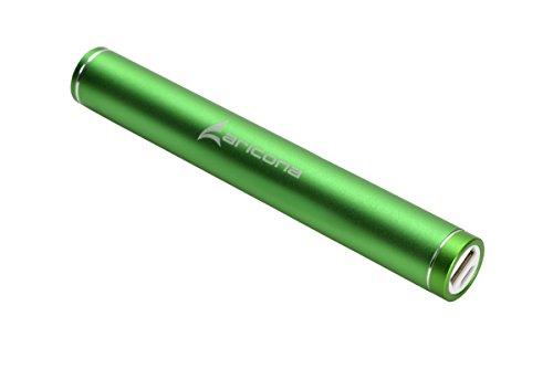 aricona Basic PowerBank - 6000 mAh in grün externer & mobiler Akku aus Metall, leicht tragbares & kompaktes Design, ideal zum Laden von Handys und Smartphones unterwegs – Der Standard Akkupack