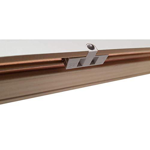 Cinta autoadhesiva de base blanda 45 x 15 mm perfiles de suelo para umbrales de puerta 25m de largo