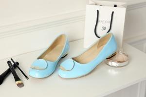 hexiaji 22cm-26.5ccm chaussure femme chaussure talon bas chaussure blanche blanche rose Bleu