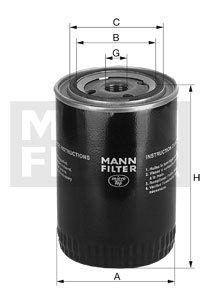 Mann Filter WA 940/19 Kühlmittelfilter