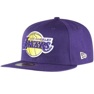 New Era Herren Fitted Cap NBA Basic Reverse LA Lakers 59Fifty violet violet 7 3/8 - 58,7cm