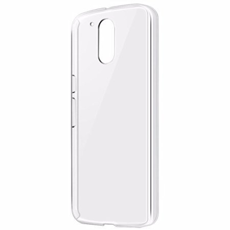K/B COMBO Flexible Ultra Slim Premium Silicone TPU Transparent Soft Back Cover Case for Moto E3 Power / Motorola E 3rd Generation WITH FREE OTG ADAPTER  available at amazon for Rs.149