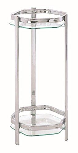 HAKU Möbel 60207 Blumensäule 66 x 28 cm, chrom