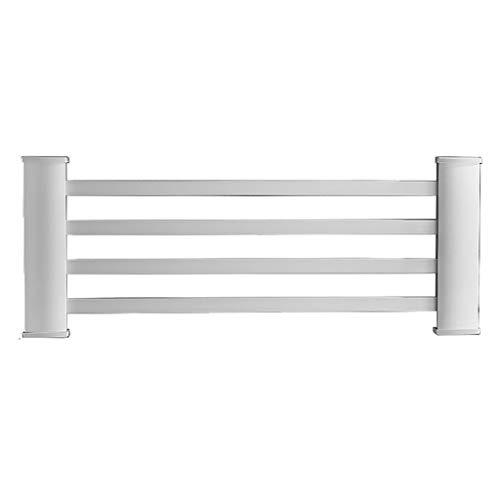 Preisvergleich Produktbild Wandmontierter Elektrischer Handtuchhalter,  ZeitgemäßEs Aluminium 4-Handtuchstange,  Beheiztes 45-W-Badezimmer-Rack,  Wasserdicht,  55x21cm