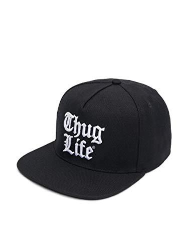 Thug Life Herren Snapback Caps Nico schwarz Verstellbar