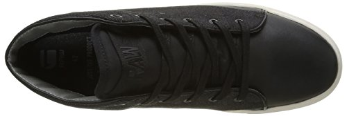 G-STAR RAW Thec Mid, Sneakers Hautes Homme Noir (black 990)