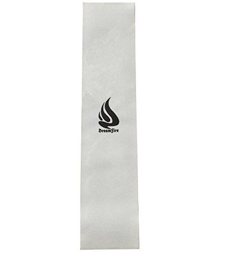 """Dreamfire Grip Tape Skateboard Clear Grip Tape mit Logo für Longboard Pennyboard Scooter, Jungen, Clear 43, 10"""" x 43"""""""