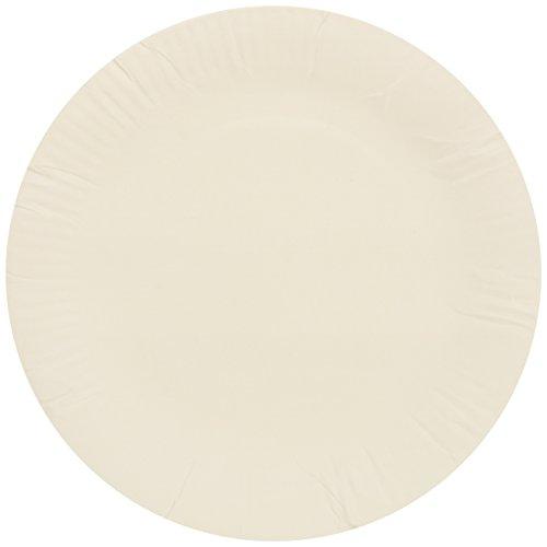 Jena 22,86cm piatti di carta, bianco