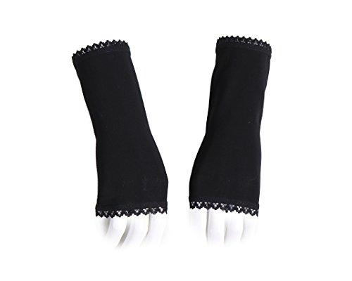 Manicotti stile vittoriano e gothic da abbinare un abito da sera della lunghezza di 17