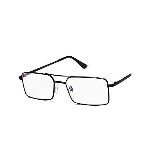 Sport-Sonnenbrillen, Vintage Sonnenbrillen, Metal Small Rectangle Sunglasses Women NEW Fashion Shades Female Brand Oculos Feminino Brown Lens Sun Glasses For Women Black Clear