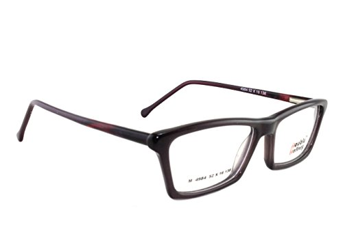 DOUBLE BATTERY (M4984 C-4) Full Rim Rectangle Spectacles/ Glasses, Red color Full Frame Eye wear for Women  available at amazon for Rs.900