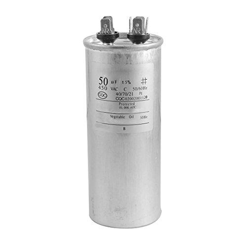 Kondensator - TOOGOO(R) CBB65A-1 50uF AC 450V Motor Kondensator fuer Klimaanlage Motor -