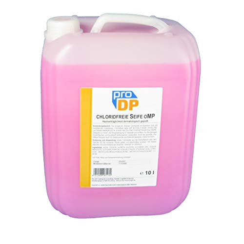 10l Pro DP Cremeseife Handseife Flüssigseife Bio Spenderseife Rosa ohne Mikroplastik chloridfrei PH-neutral rückfettend - Made in Germany