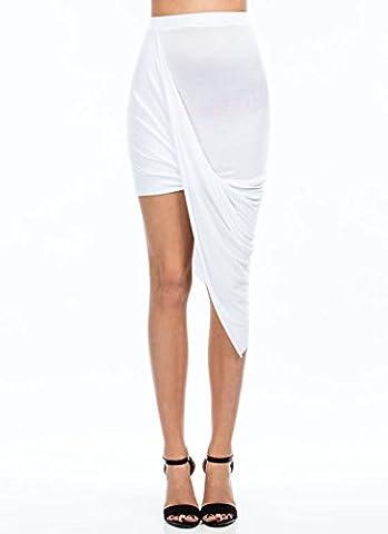 The Celebrity Fashion - Jupe - Femme White - Clubwear Club Fashion Stylish