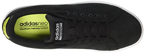 adidas Herren Cloudfoam Advantage Sneaker Mehrfarbig (Core Black/core Black/solar Yellow)