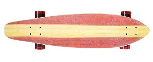 """StreetsurfingLongboard kicktail, 36"""", Longboard Street Surfing Longboard Kicktail 36, Design: RideA-Classic, 2015, 500231, beige/rosso, Longboard"""