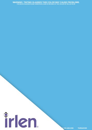 Irlen Turquoise Coloured Overlay 9