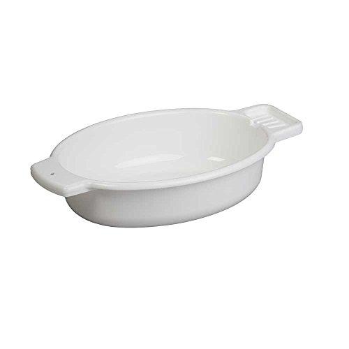 Waschschüssel mit Seifenablage - weiß - 1 Stück