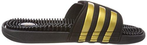 adidas Herren Adissage Dusch-& Badeschuhe Blau (Legend Ink F17/gold Met./legend Ink F17)
