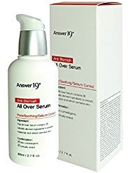 Tea Oil Free Moisturizer ([ANSWER NINETEEN+] Anti Blemish All Over Serum – Minimize Skin Irritation with Ecocert Certified Ingredients, Pore Care, Peeling, Sebum Control, Skin Brightening, Anti-Wrinkle, 80ml / 2.8 fl. Oz)