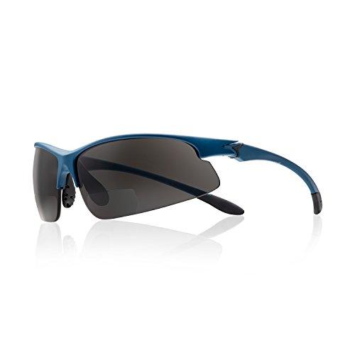Skibrille mit Leseteil bifokal/Sportbrille/Multisportbrille (+2,50 dpt)