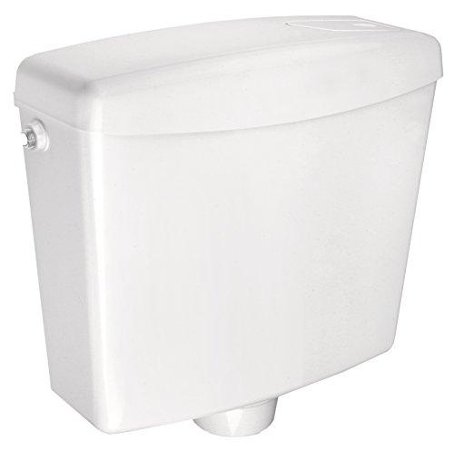 Cornat Spülkasten FARO, weiß/Start-/Stopp-Spülung/Toilettenspülung/Aufputzspülkasten/Toilette/Badezimmer/SPK1500