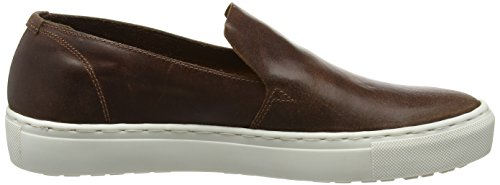 Lyle & Scott Herren Alford Leather Sneaker Braun (Cognac)
