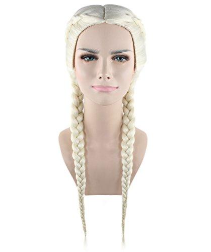 Exclusive-Wig-Peluca-for-cosplay-Kim-Kardashian-Blonde-Braid-style-HW-1383