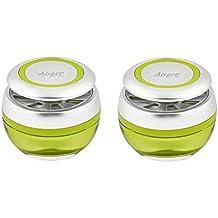 Airpro Luxury Sphere Gel Air Freshener- Lush Retreat Fragrance - Car, Desk, Office, Cabin, Home, Room Air Freshner Perfume Fragrance - Pair(Set of 2 Pcs)
